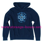 Independent Voltage Pullover Hoodie Navy - Large