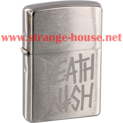 Zippo Deathwish Skateboards Lighter - Click Image to Close
