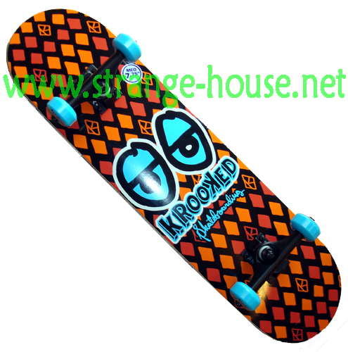 "Krooked Snake Eyes 7.75"" Complete / Orange - Click Image to Close"