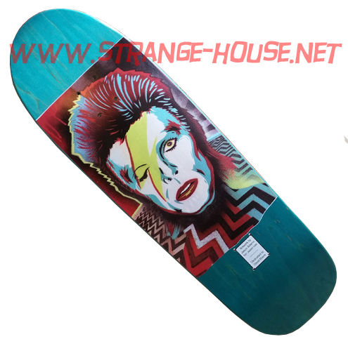 Prime Jason Adams / Jason Lee / Bowie Tribute Deck Ltd. Teal - Click Image to Close