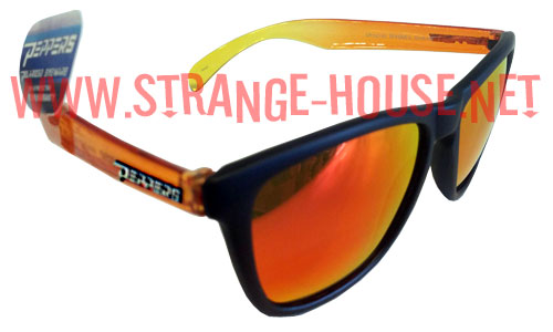 f18f4e2f89843 Peppers Sunglasses Breakers Matte Black   Orange Fade Polarized