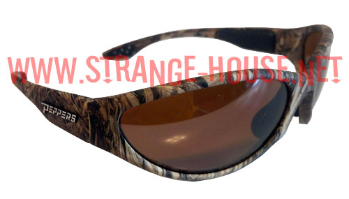 Peppers Sunglasses Breakwater - Duck Blind Polarized Brown - Click Image to Close