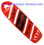 "Magic Skateboards Duane Peters Disaster Guest Deck - 9.5"" Red"