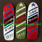 "Magic Skateboards Duane Peters Disaster Guest Deck - 9.5"" Army"