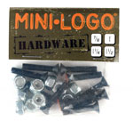 "Mini-Logo 1.25"" Counter Sunk / Phillips Head Mounting Hardware"