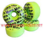 Misfits 54mm / 99a Wheels - Green