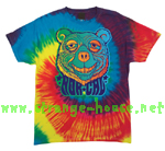 NorCal Trip Bear T-Shirt / Reactive Rainbow / Large