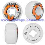OJ Logo Family Wheels - 52mm / 99a (set of 4) - White