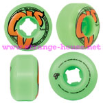 OJ Logo Family Wheels - 53mm / 99a (set of 4) - Green