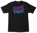 OJ Wheels Insane-A-Thane T-Shirt / Black / Large