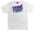 OJ Wheels Insane-A-Thane T-Shirt / White / Large