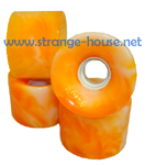 OJ III Hot Juice - Orange Swirl 60mm / 78a
