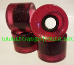 Penny 59mm / 78a Crimson Glitter Wheels / Set of 4