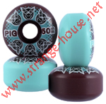 Pig Mash Up Wheels 50mm / 101a Purple & Blue