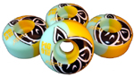 Pig Marks 50/50 Pro Wheels - 51mm / 101a