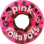 Pink Polka Dots 62mm 96a