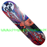"PPS Pedro Barros Fist 8.125"" x 32"" Deck - Purple / 2009"