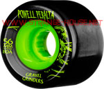 Powell Peralta Gravel Grinders 56mm / 80a Black-Green Wheels