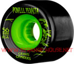 Powell Peralta Gravel Grinders 56mm / 86a Black-Green Wheels