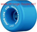 Powell Rat Bones Wheels 60mm / 90a Blue