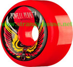Powell Peralta Bomber III 60mm / PF Red Wheels