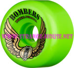 Powell Peralta Bomber III 64mm / 85a Green Wheels