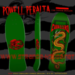 "Powell Peralta Steve Caballero Chinese Dragon 10.0"" Deck Green"