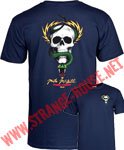 Powell Peralta Mike McGill Skull and Snake T-Shirt - Navy / LG