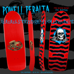 "Powell Peralta OG Ripper 3 Re-Issue Deck 10"" x 31"" Red"