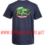 Powell Peralta Oval Dragon T-Shirt / Navy / Medium