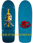 "Powell Peralta Ray ""Bones"" Rodriguez Re-Issue 10.0"" / Blue"