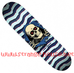 "Powell Peralta Ripper 9.0"" x 32.9"" Deck Blue / Lt. Blue"