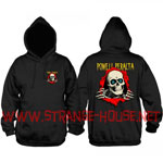 Powell Peralta Ripper Mid-Weight Pullover Hoodie Black / XL