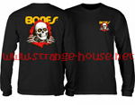 Powell Peralta Ripper Long Sleeve T-Shirt Black / XXL