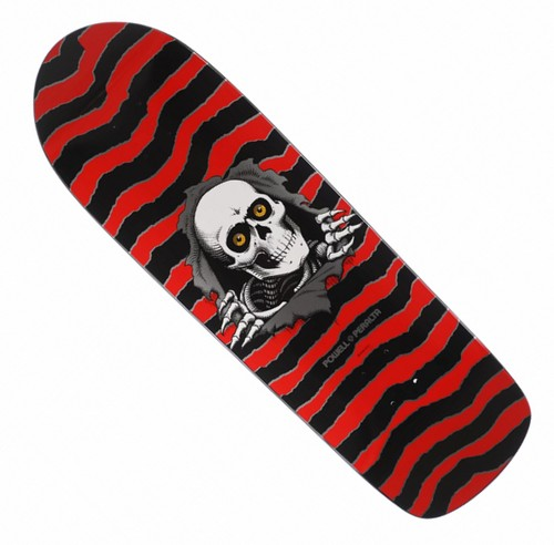 "Powell Peralta Classic Ripper Black, Red & Silver - 10.0"" Deck"