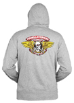 Powell Peralta Winged Ripper - Gray - Large
