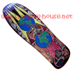 Prime Jef Hartsel World Industries Globes Re-Issue Purple 10.0""