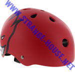 Pro-Tec Classic Certified EPS Helmet / Spitfire - Red / XS