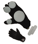 Triple 8 Slider Gloves Large / XL