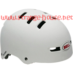 Bell Matte White The Faction Helmet Small / Blemished