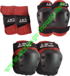 The 187 Three Piece Combo Pack / Juniors / Red