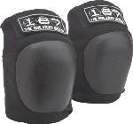 The 187 Pro Core Knee Pads XL BLACK