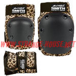 Smith Scabs Combo Pack / Leopard / Knee, Elbow & Wrist -Large