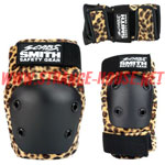 Smith Scabs Youth Combo Pack / Leopard / Knee, Elbow & Wrist