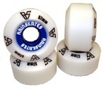 Rainskates 57mm / 100a Standard Wheels - White