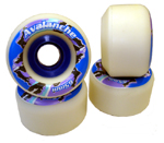 Rainskates Avalanche 65mm / 100a - White - Standard
