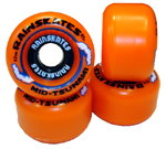 Rainskates Mid Tsunami Classic Orange 62mm/85a
