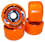 Rainskates Tsunami 85a Orange Wheels