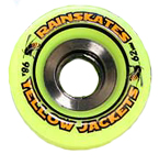 Rainskates Yellow Jackets 98a Wheels - Single Conical