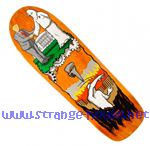 "Real Jim Thiebaud Wrench Justice Ltd. Ed. 9.75"" Deck - Orange"